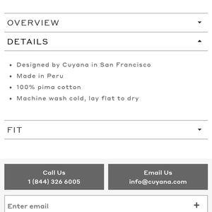 Cuyana Tops - Cuyana Classic Crewneck Tee in Gray